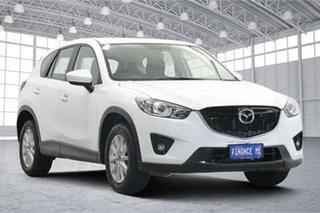 2013 Mazda CX-5 KE1071 Maxx SKYACTIV-Drive Sport White 6 Speed Sports Automatic Wagon.