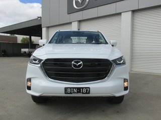 2020 Mazda BT-50 TFS40J XT White 6 Speed Manual Cab Chassis.