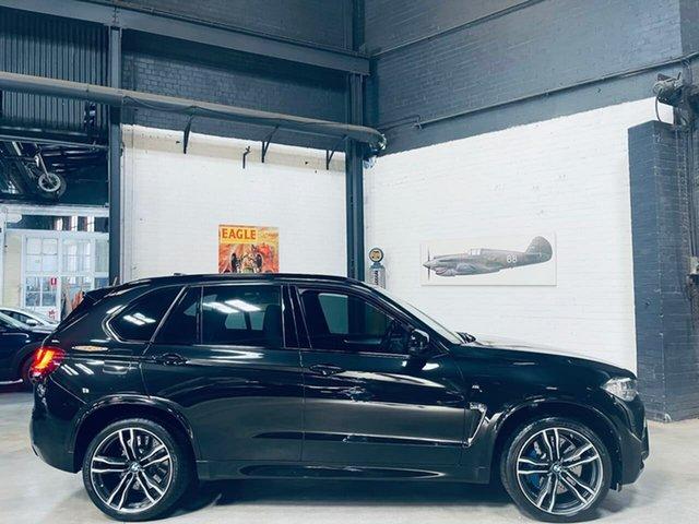 Used BMW X5 M F85 Steptronic Port Melbourne, 2015 BMW X5 M F85 Steptronic Black 8 Speed Sports Automatic Wagon