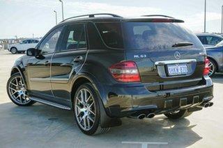 2008 Mercedes-Benz M-Class W164 MY08 ML63 AMG Black 7 Speed Sports Automatic Wagon.