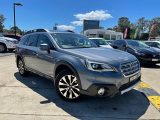 2016 Subaru Outback B6A MY16 2.0D CVT AWD Premium Platinum Grey 7 Speed Constant Variable Wagon.