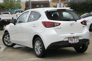 2015 Mazda 2 DJ2HAA Maxx SKYACTIV-Drive White 6 Speed Sports Automatic Hatchback.