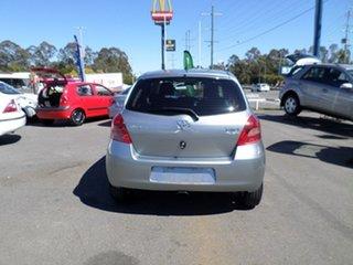 2008 Toyota Yaris YR Grey Automatic Hatchback.