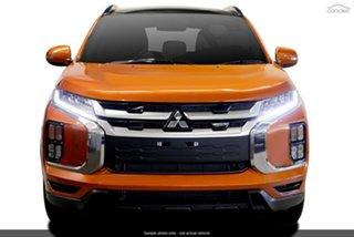 2021 Mitsubishi ASX XD MY21 XLS Plus 2WD Sunshine Orange 1 Speed Constant Variable Wagon.