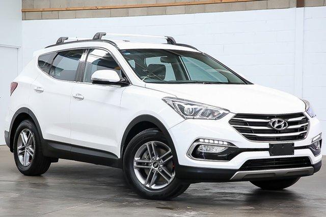Used Hyundai Santa Fe DM3 MY16 Active Erina, 2016 Hyundai Santa Fe DM3 MY16 Active White 6 Speed Sports Automatic Wagon
