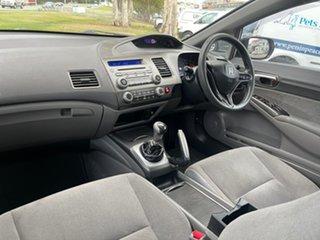 2008 Honda Civic 8th Gen MY08 VTi Silver 5 Speed Manual Sedan