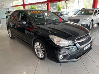 2013 Subaru Impreza G4 MY13 2.0i Lineartronic AWD Blue 6 Speed Constant Variable Sedan.