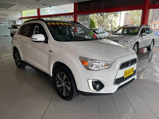 2015 Mitsubishi ASX XB MY15 XLS 2WD White 6 Speed Constant Variable Wagon.