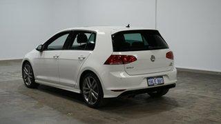 2016 Volkswagen Golf VII MY16 110TSI DSG Highline White 7 Speed Sports Automatic Dual Clutch.