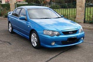 2004 Ford Falcon BA XR6 Blue 4 Speed Auto Seq Sportshift Sedan.
