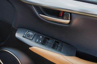 2017 Lexus NX AGZ15R NX200t AWD Luxury Black/Grey 6 Speed Sports Automatic Wagon