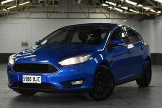 2015 Ford Focus LW MkII MY14 Trend PwrShift Blue 6 Speed Sports Automatic Dual Clutch Hatchback.