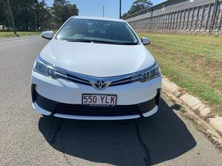 2018 Toyota Corolla ZRE172R MY17 Ascent Glacier White 7 Speed CVT Auto Sequential Sedan.