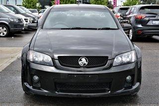 2010 Holden Ute VE MY10 SV6 Black 6 Speed Sports Automatic Utility.
