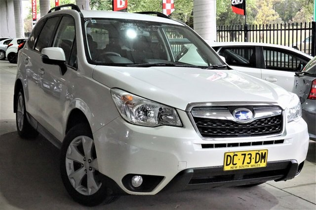 Used Subaru Forester S4 MY14 2.5i Lineartronic AWD Phillip, 2014 Subaru Forester S4 MY14 2.5i Lineartronic AWD White 6 Speed Constant Variable Wagon