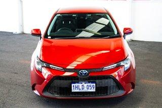 2020 Toyota Corolla ZWE211R Ascent Sport E-CVT Hybrid Volcanic Red 10 Speed Constant Variable Sedan.