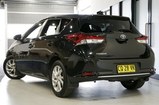 2018 Toyota Corolla ZRE182R Ascent Sport S-CVT Black 7 Speed Constant Variable Hatchback.
