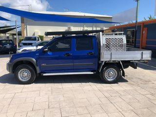 2008 Holden Colorado RC LX Crew Cab Blue 5 Speed Manual Cab Chassis
