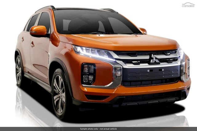 New Mitsubishi ASX XD MY21 XLS Plus 2WD Hillcrest, 2021 Mitsubishi ASX XD MY21 XLS Plus 2WD Sunshine Orange 1 Speed Constant Variable Wagon