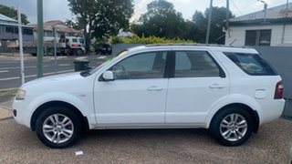 2010 Ford Territory SY TS White Automatic Wagon