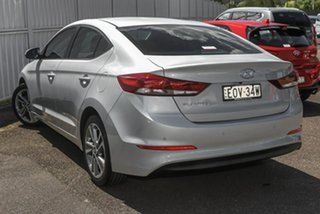 2016 Hyundai Elantra AD MY17 Elite Silver 6 Speed Sports Automatic Sedan.