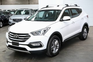 2016 Hyundai Santa Fe DM3 MY16 Active White 6 Speed Sports Automatic Wagon.