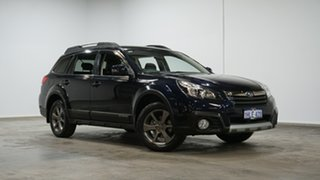 2014 Subaru Outback B5A MY14 2.5i Lineartronic AWD Blue 6 Speed Constant Variable Wagon.