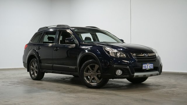 Used Subaru Outback B5A MY14 2.5i Lineartronic AWD Welshpool, 2014 Subaru Outback B5A MY14 2.5i Lineartronic AWD Blue 6 Speed Constant Variable Wagon