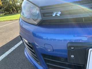 2012 Volkswagen Golf 1K MY12 R Blue 6 Speed Direct Shift Hatchback