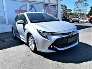2020 Toyota Corolla ZWE211R SX E-CVT Hybrid Silver Pearl 10 Speed Constant Variable Hatchback Hybrid.