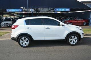 2012 Kia Sportage SL MY12 SLi(AWD) White 6 Speed Automatic Wagon.