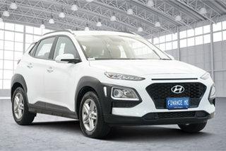 2020 Hyundai Kona OS.3 MY20 Active 2WD White 6 Speed Sports Automatic Wagon.
