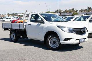 2017 Mazda BT-50 UR0YE1 XT 4x2 White 6 Speed Manual Cab Chassis.