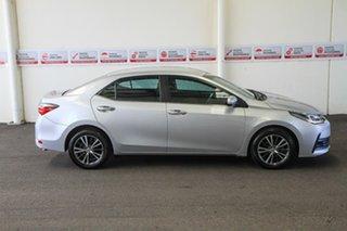 2017 Toyota Corolla ZRE172R MY17 ZR Silver Ash 7 Speed CVT Auto Sequential Sedan