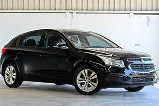 2015 Holden Cruze JH Series II MY15 Equipe Black 5 Speed Manual Hatchback.