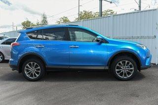 2017 Toyota RAV4 ASA44R Cruiser AWD Blue 6 Speed Sports Automatic Wagon.