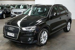 2013 Audi Q3 8U MY14 TFSI S Tronic Quattro Black 7 Speed Sports Automatic Dual Clutch Wagon.