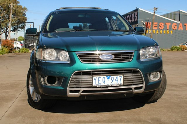 Used Ford Territory SY MkII TS Limited Edition (4x4) West Footscray, 2010 Ford Territory SY MkII TS Limited Edition (4x4) Green 6 Speed Auto Seq Sportshift Wagon