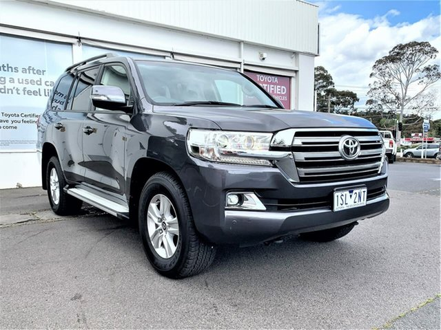 Pre-Owned Toyota Landcruiser VDJ200R GXL Ferntree Gully, 2020 Toyota Landcruiser VDJ200R GXL Graphite 6 Speed Sports Automatic Wagon