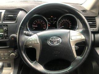 2007 Toyota Kluger GSU45R KX-S AWD Gold 5 Speed Sports Automatic Wagon