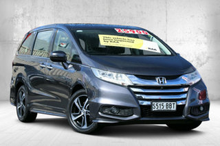 2014 Honda Odyssey RC MY14 VTi-L Modern Steel 7 Speed Constant Variable Wagon.