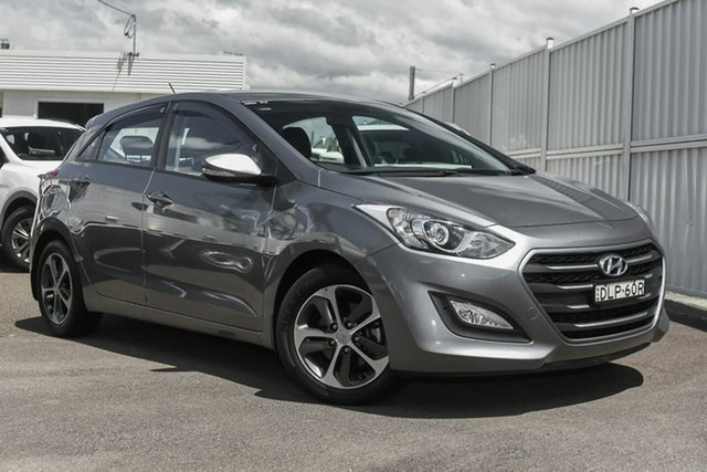 Used Hyundai i30 GD4 Series II MY17 Active North Gosford, 2016 Hyundai i30 GD4 Series II MY17 Active Grey 6 Speed Sports Automatic Hatchback