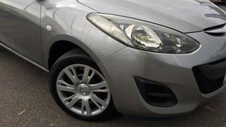 2012 Mazda 2 DE10Y2 MY12 Neo Billet Silver 4 Speed Automatic Hatchback.