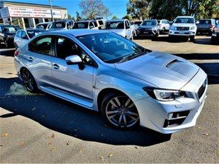 2016 Subaru WRX V1 MY16 AWD Silver 6 Speed Manual Sedan.