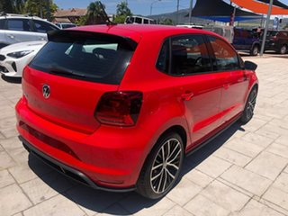 2017 Volkswagen Polo 6R MY17 GTI DSG Red 7 Speed Sports Automatic Dual Clutch Hatchback
