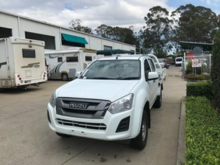 2017 Isuzu D-MAX MY17 SX Crew Cab 4x2 High Ride White 6 speed Automatic Cab Chassis.