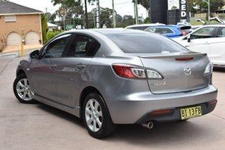 2010 Mazda 3 BL10F1 Maxx Activematic Silver 5 Speed Sports Automatic Sedan.