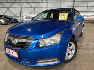 2011 Holden Cruze JG CD Blue 5 Speed Manual Sedan.