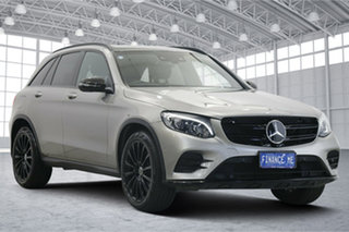 2019 Mercedes-Benz GLC-Class X253 809MY GLC250 9G-Tronic 4MATIC Silver 9 Speed Sports Automatic.