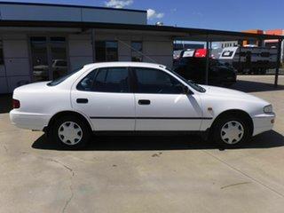1996 Toyota Camry SXV10R CSi White 4 Speed Automatic Sedan.